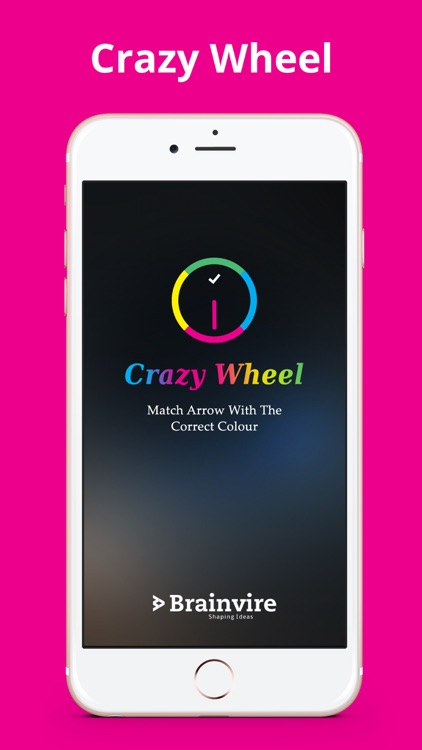 Crazy Wheel : Swap color twisty match with the round circle switch game screenshot-3