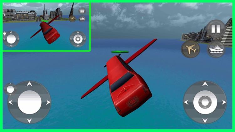 Floating Limo Flying Car Pro screenshot-3