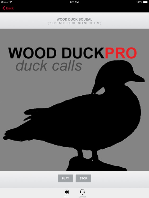 Wood Duck Calls - With Bluetooth Ad Free