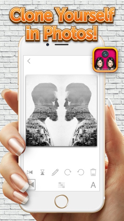 Mirror Camera Effects – Photo Reflection Blender for Making Cool Clone Pics screenshot-4