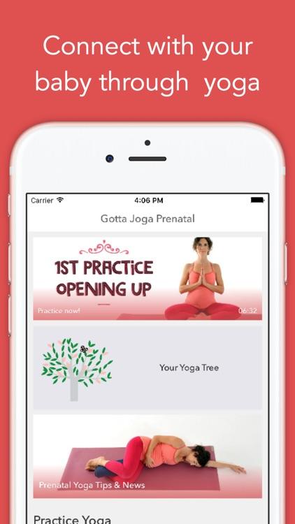 Gotta Joga Prenatal, yoga during pregnancy