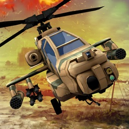 Gunship Helicopter War 3D – Modern Air Combat Battle Flight Simulation