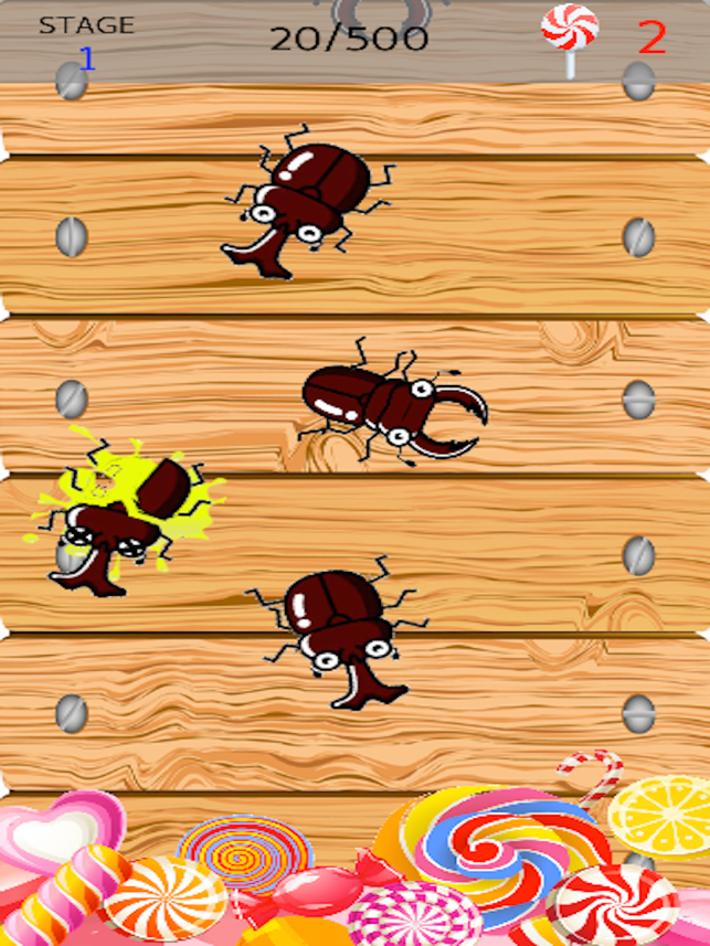 Beetles Smasher 【Popular Apps】, game for IOS