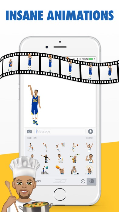 StephMoji by Steph Curryのおすすめ画像4
