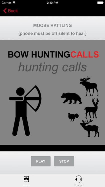 Bow Hunting Calls - Premium Hunting Calls For Archery Hunting Success screenshot-2