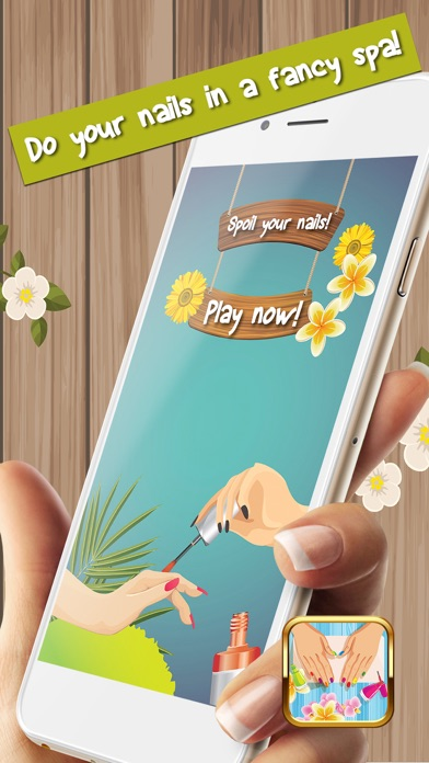 Nail Polish Games For Girls – Cute Manicure Design Idea.s