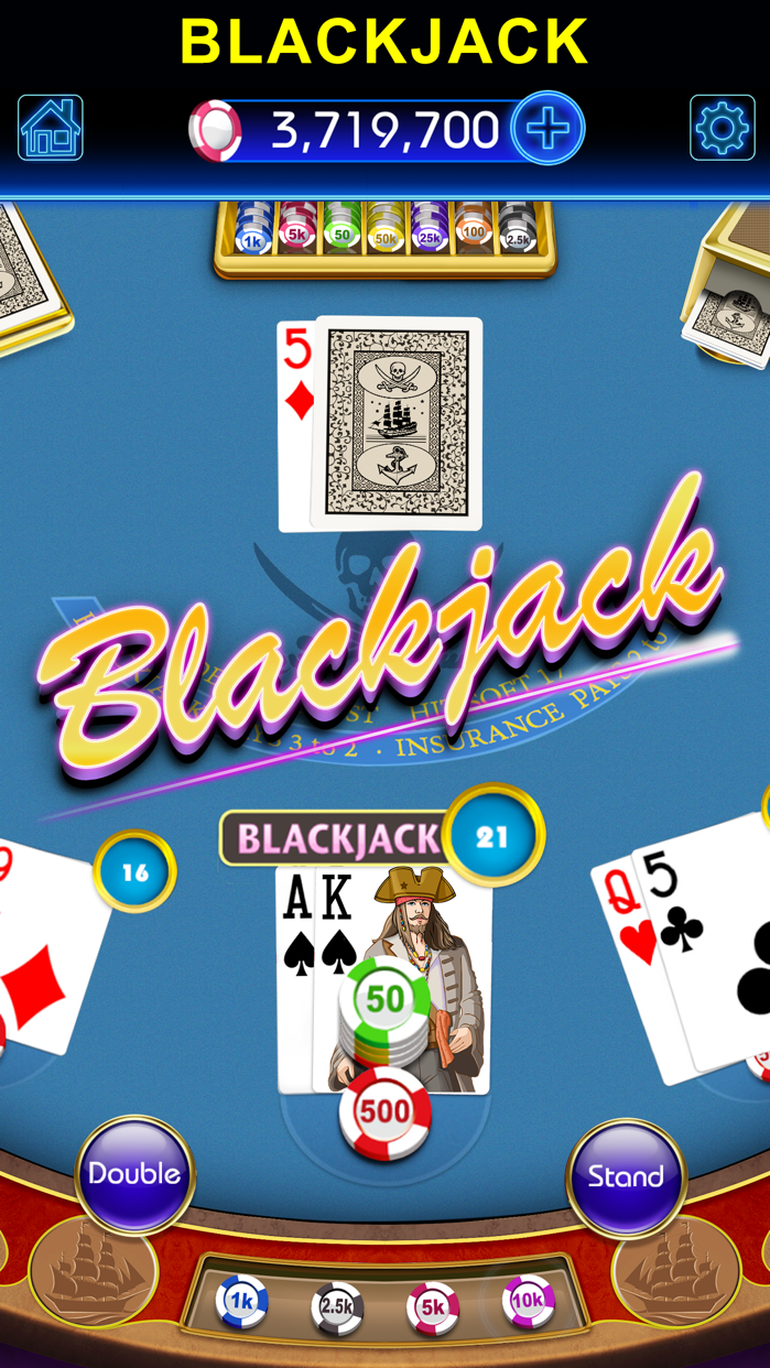 Blackjack-black jack 21 casino Screenshot
