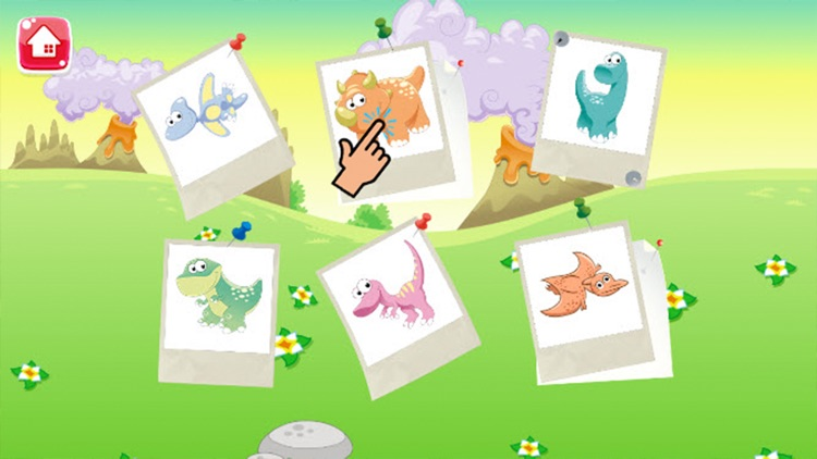 Dinosaur Coloring Book - Dino drawing and painting for kids games screenshot-4