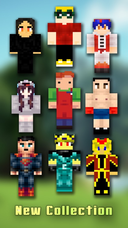 Skin.s Creator for PE - Pixel Texture Simulator & Exporter for Mine.craft Pocket Edition Pro