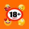 Sexy Adult Emoji Animated Keyboard - Love, Wild, Flirty Emotion Icons