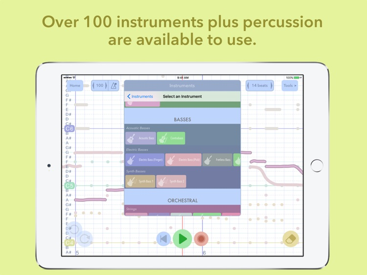 Composer's Sketchpad Lite screenshot-3