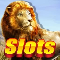 Lion Slots - Luxury casino party free Vegas Slot Machine Games for grand jackpot Serengeti!