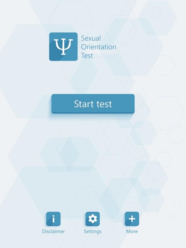 orientation sexuality test