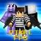 Pixel FPS - FPS Adventure Mine Block Mini Game Edition