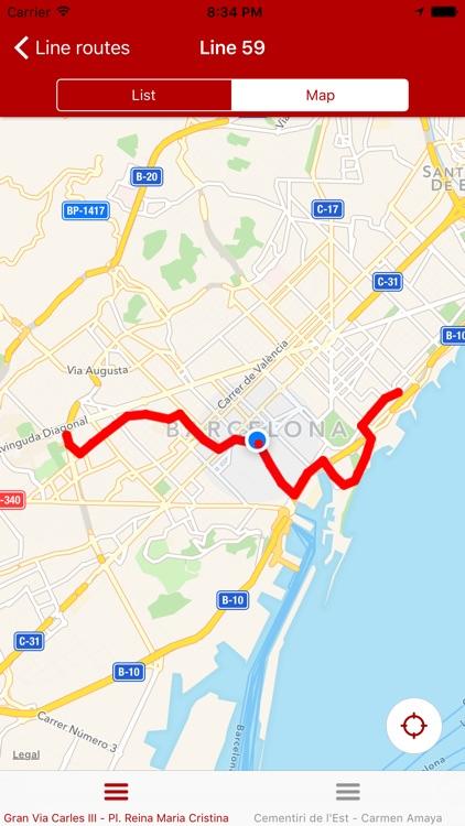 Next bus Barcelona screenshot-3