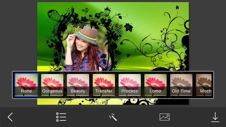 Abstract Photo Frames - Instant Frame Maker & Photo Editor