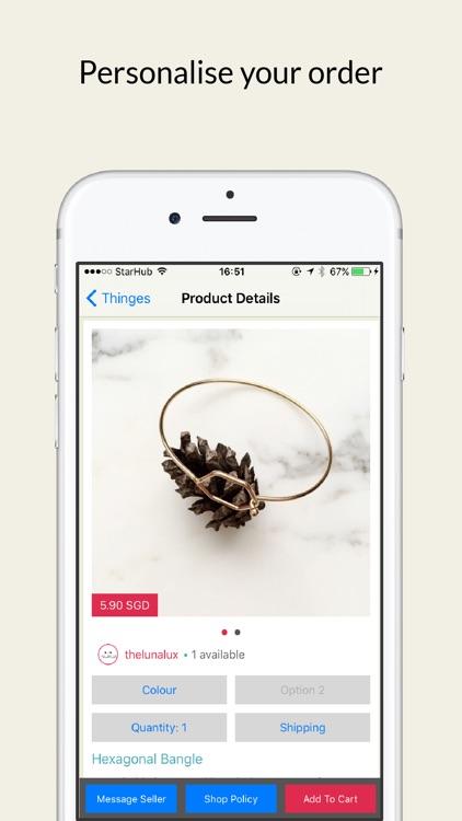 Thinges: Shop Artisanal, Handmade & Personalised Goods