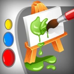 Cartoon SketchBook Paint - doodle, draw, sketch & color splash