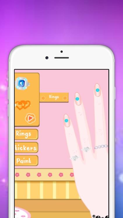 Girls Games : Nail Art Salon Full Game screenshot-4