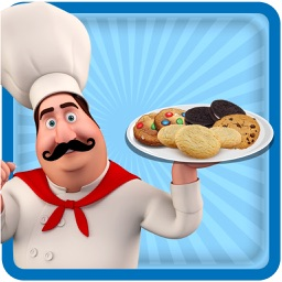 Creative Cookie Maker Chef - Make, bake & decorate different shapes of cookies in this kitchen cooking and baking game