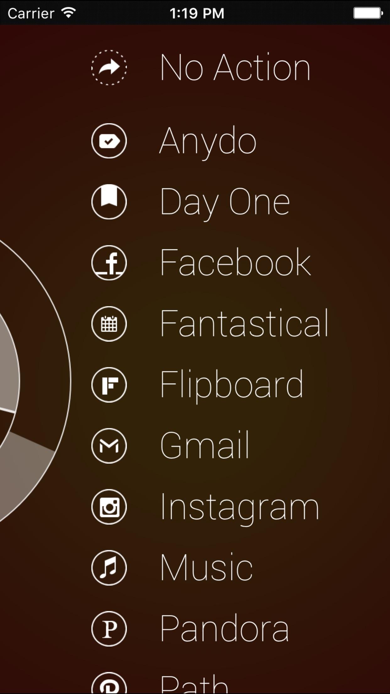 Screenshot do app Start by Tack