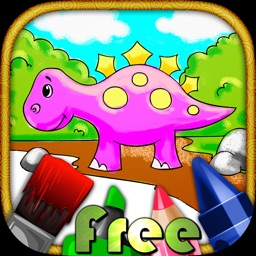 Kids Doodle Coloring Book Free - draw, color and paint for kids