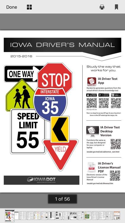 Iowa DMV Test Prep screenshot-4