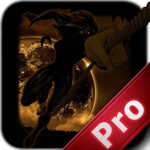 A Monster Shadow Rope Pro - Ninja Castle Escape Jump icon