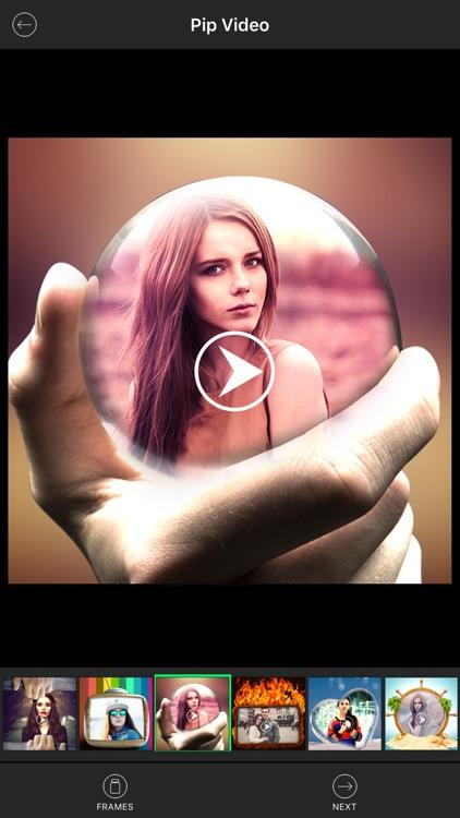 PIP Video - Add Frames to Video screenshot-3