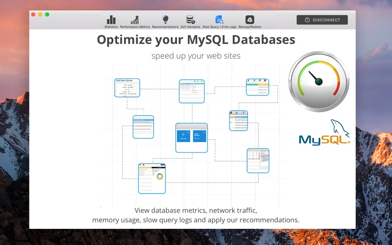 MySQL Database Optimizer Screenshots