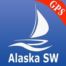 Alaska South West GPS Nautical charts