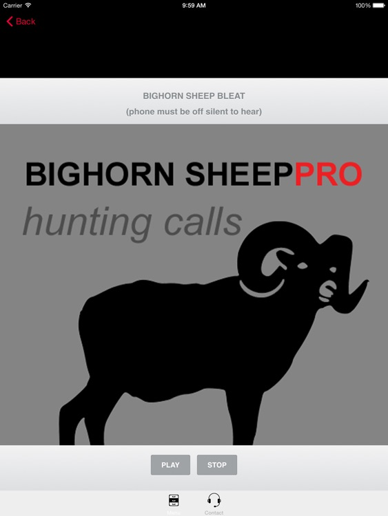 REAL Bighorn Sheep Hunting Calls - 8 Bighorn Sheep CALLS & Bighorn Sheep Sounds! -- BLUETOOTH COMPATIBLE screenshot-0