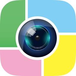 Telecharger スプリットカメラ 最大4分割で撮影して画像加工まで Pour Iphone Ipad Sur L App Store Photo Et Video