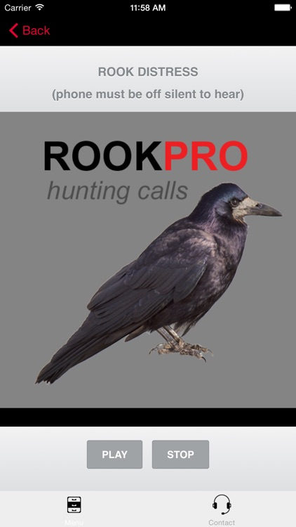 REAL Rook Hunting Calls - 10 REAL Rook CALLS & Rook Sounds! - ROOK eCaller - BLUETOOTH COMPATIBLE screenshot-0