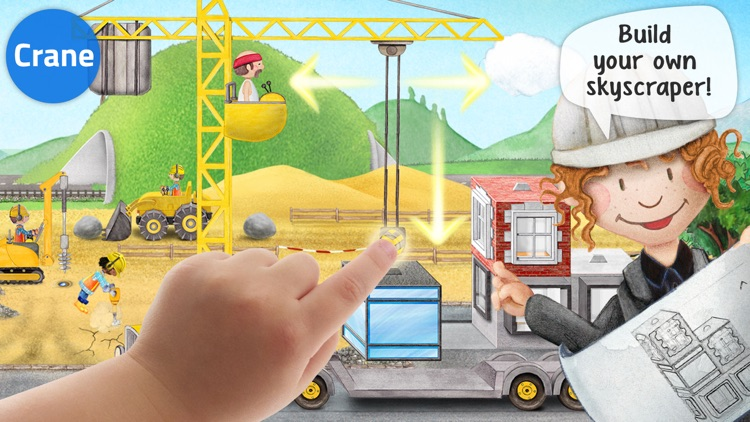 Tiny Builders - Action Construction Site for Kids! screenshot-2
