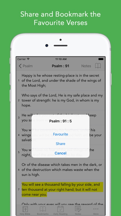 ASV Bible: Easy to use American Standard Version Bible app for daily offline Bible Book reading screenshot-3