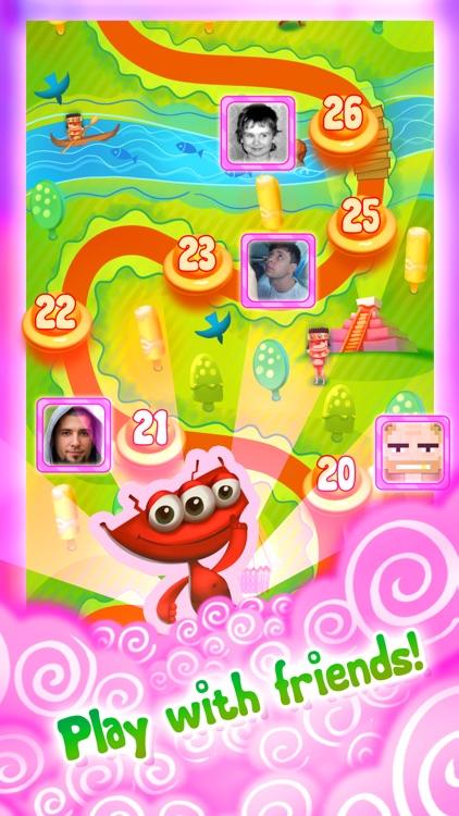 Candy UFO - match 3 puzzle game screenshot-3