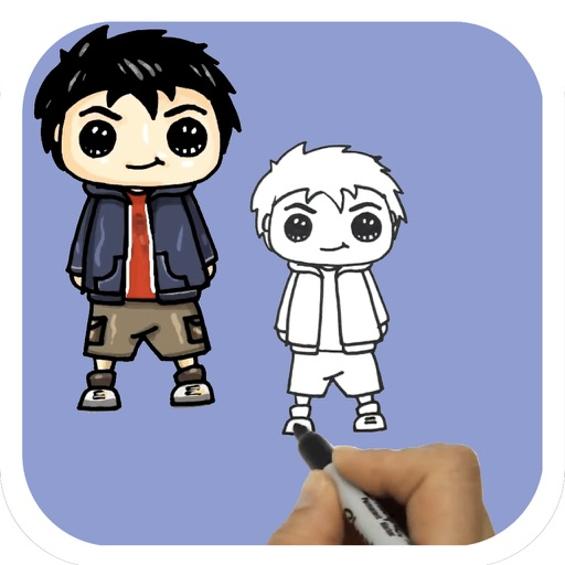 Learn How To Draw Cartoon Characters For Ipad By Toan Le Nguyen