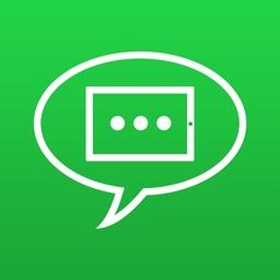 WhatsPad für iPad