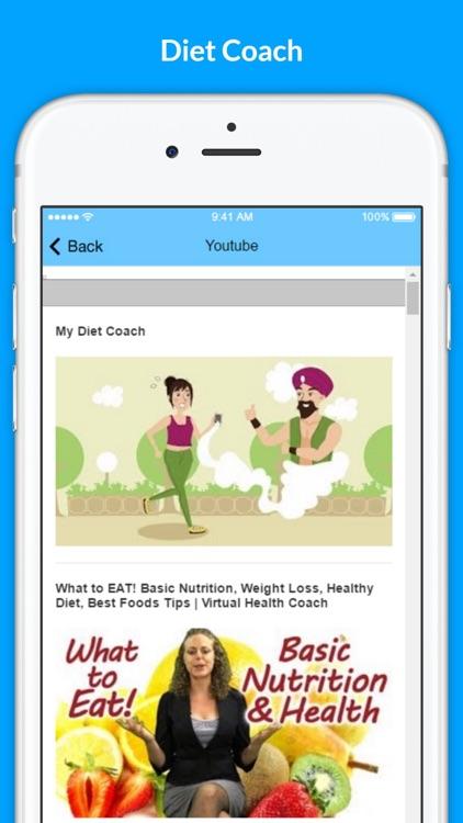 Diet Coach - Rapid Weight Loss Diets screenshot-3