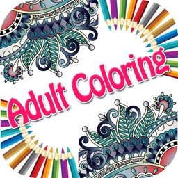 Color Ring-Free adult coloring book and best art therapy for canvas and flowers