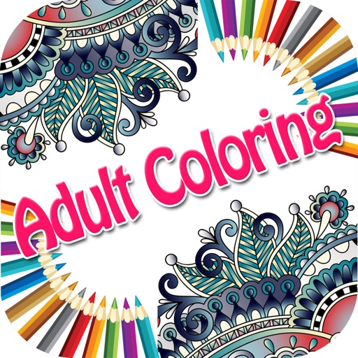 Color Ring-Free adult coloring book and best art therapy for canvas and flowers iOS App