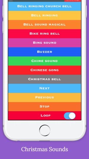 Bell Sounds FREE (Christmas,Fire alarm,Police Siren,Schoo Bells