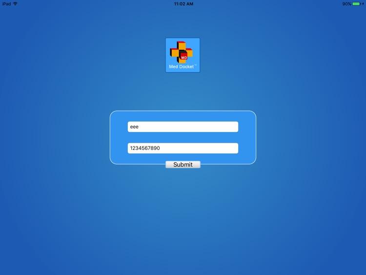 MedDocket Power iPad