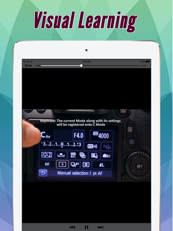 Guide And Training For Canon EOS 70D Pro | App Price Drops