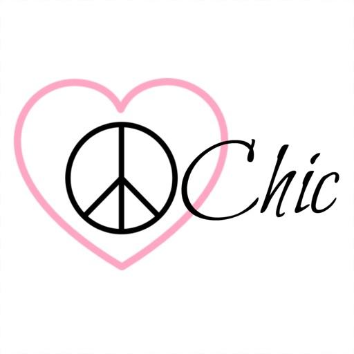 Peace. Love. Chic.