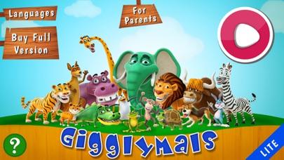 Gigglymals Lite - Funny Animal Interactions for iPhone-0
