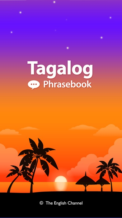 Screenshot for Tagalog Phrasebook & Dict in Belgium App Store