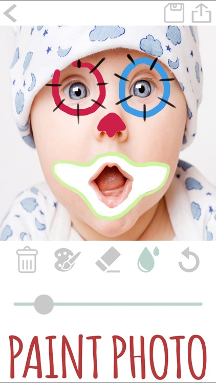 Draw and paint on a photo screenshot-3