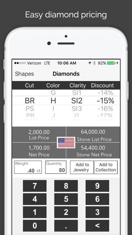 MyJeweler 2 - Diamonds, Jewelry and Metals pricing calculator